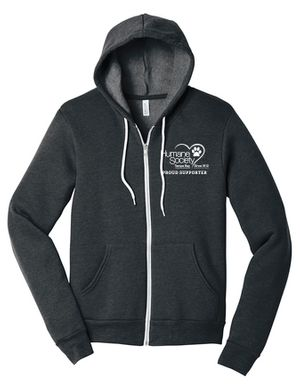 Heather Grey Proud Supporter Hoodie