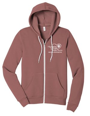 Mauve Proud Supporter Hoodie