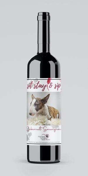 Custom Label Wine Bottle