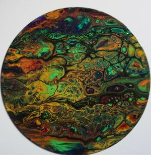 Cocktails & Creations - Acrylic Pour: Upcycled Records and More