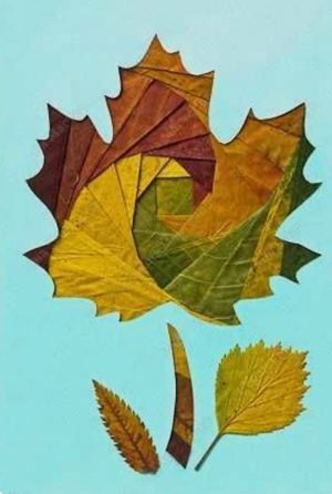 Cocktails & Creations: Autumn Leaves and More - Iris folds in paper