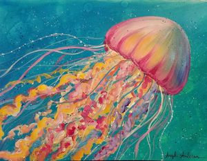 Under the Sea Acrylic on Canvas