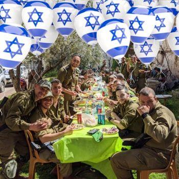Yom Ha'atzmaut Soldier BBQ