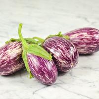 Eggplant 'Listada di Gandia'