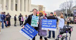 DFLA Rally Outside Supreme Court (Cameron Case)