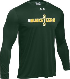 Under Armour - GREEN ADULT LONG SLEEVE SHIRT