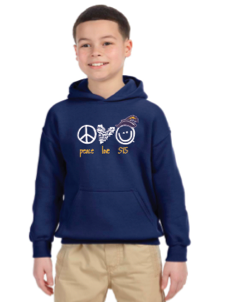 STS Peace Love World Hoodie - Youth