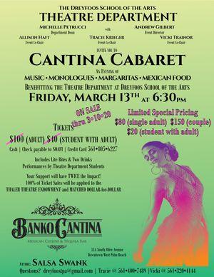 Cantina Cabaret Tickets