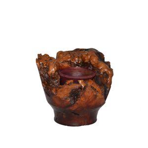 """Manzanita maple burl vase 5"""" x 4 1/2"""""""