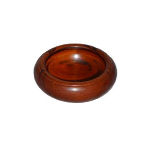 """Goncalo Alves wood bowl 5"""" x 1 3/4"""""""