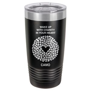 Black Coffee Tumbler