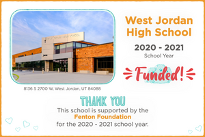 West Jordan High School 2020-21 School Year