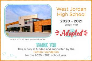 West Jordan High School 2020-21 School Year