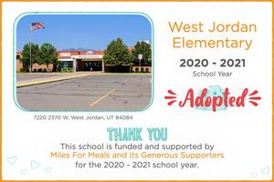 West Jordan Elementary 2020-21 School Year