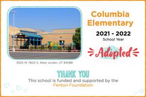 Columbia Elementary 2021-22 School Year