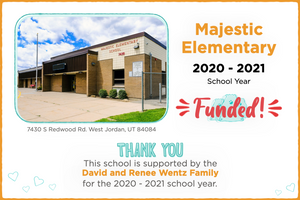 Majestic Elementary 2020-21 School Year