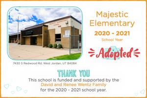 Majestic Elementary 2020-21 School Year