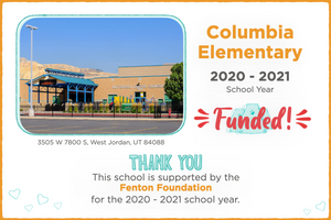Columbia Elementary 2020-21 School Year