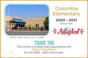 Columbia Elementary 2020-21 School Year