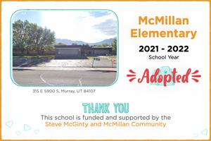 McMillan Elementary 2021-22 School Year