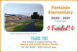 Parkside Elementary 2020-21 School Year