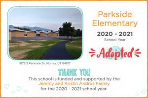 Parkside Elementary 2020-21 School Year