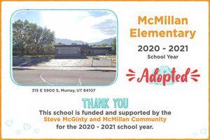 McMillan Elementary 2020-21 School Year