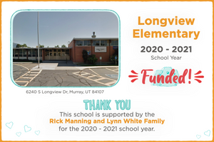 Longview Elementary 2020-21 School Year