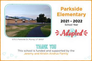 Parkside Elementary 2021-22 School Year
