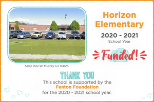 Horizon Elementary 2020-21 School Year