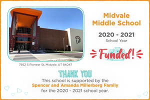 Midvale Middle School 2020-21 School Year