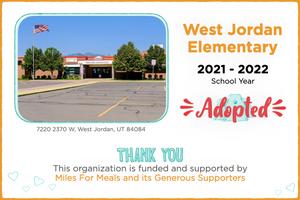 West Jordan Elementary 2021-22 School Year