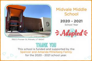Midvale Middle School 2020-21 School Year