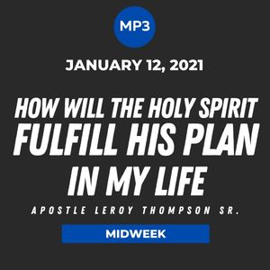 How Will The Holy Spirit Fulfill His Plan In My Life | MP3