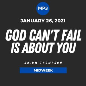 God Can't Fail Is About You | MP3