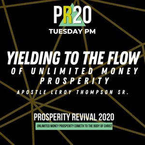 Yielding to the Flow of Unlimited Money Prosperity - TUE PM | MP3