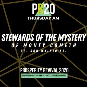 Stewards of The Mystery of Money Cometh - THU AM | MP3