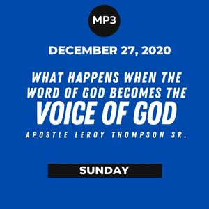 What Happens When the Word of God Becomes the Voice of God? | MP3