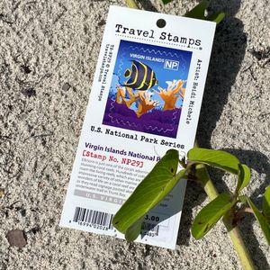 Virgin Islands National Park Series Travel Stamp