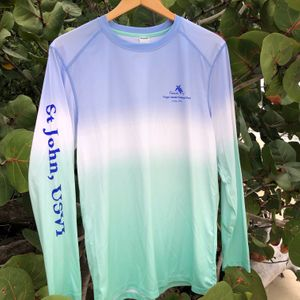 Ocean Ombre Long Sleeve  Rash guard