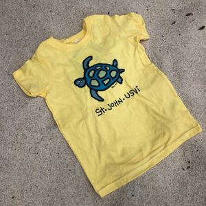 Turtle Yellow Toddler T-Shirt