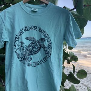 Sea Turtle Protection Mens Green T-Shirt