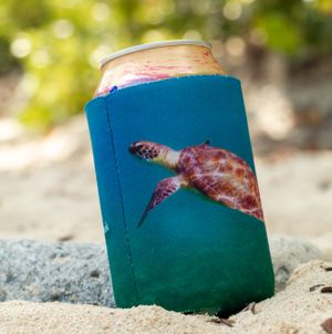 Turtle Can Koozie