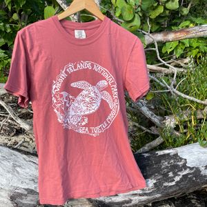 Sea Turtle Protection Mens Coral T-Shirt