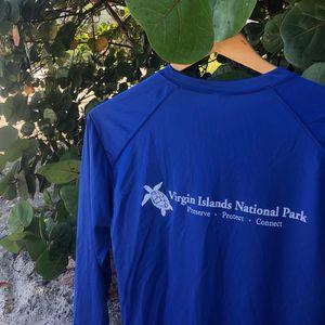 Turtle VINP Long Sleeve Blue Rash guard
