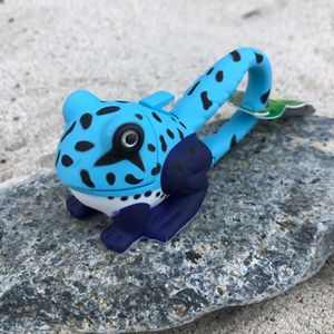 Frog Keyring Light / Blue