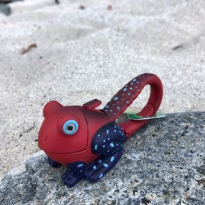 Frog Keyring Light / Red