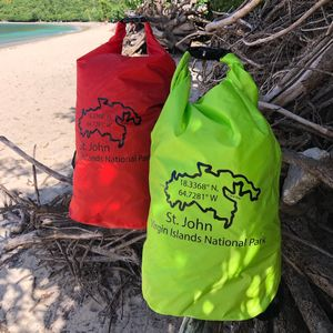 St John Map Dry Bag
