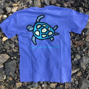 VINP Sea Turtle Blue Adult T-Shirt