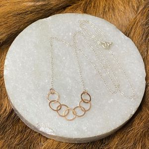 Alicia Rose Gold Link Necklace